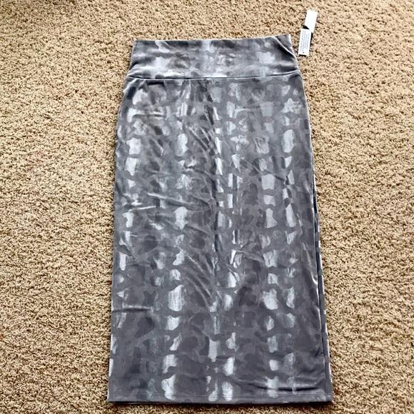 NWT LuLaRoe elegant Ivy midi skirt